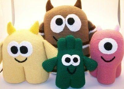 monster toys pdf pattern