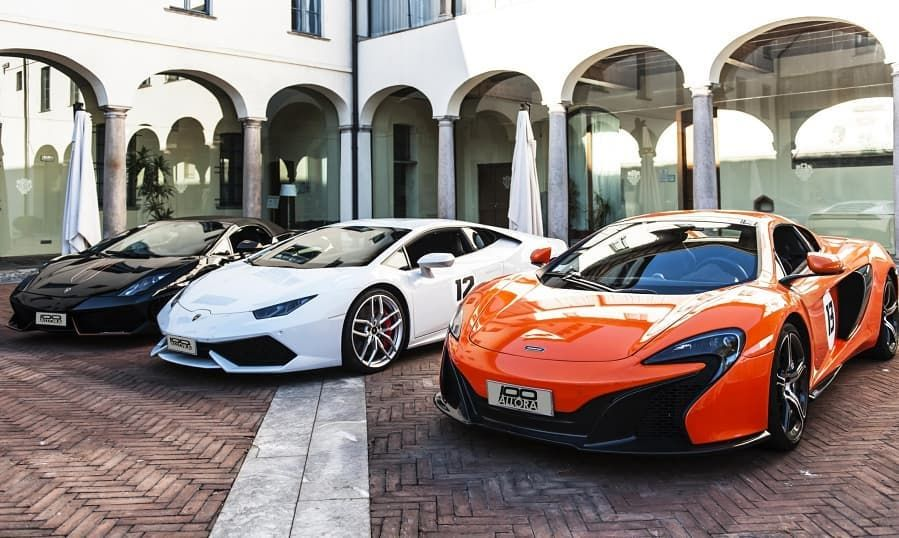 Whole Lotta Horsepower In One Place Luxury Car Rental Luxury Cars Car