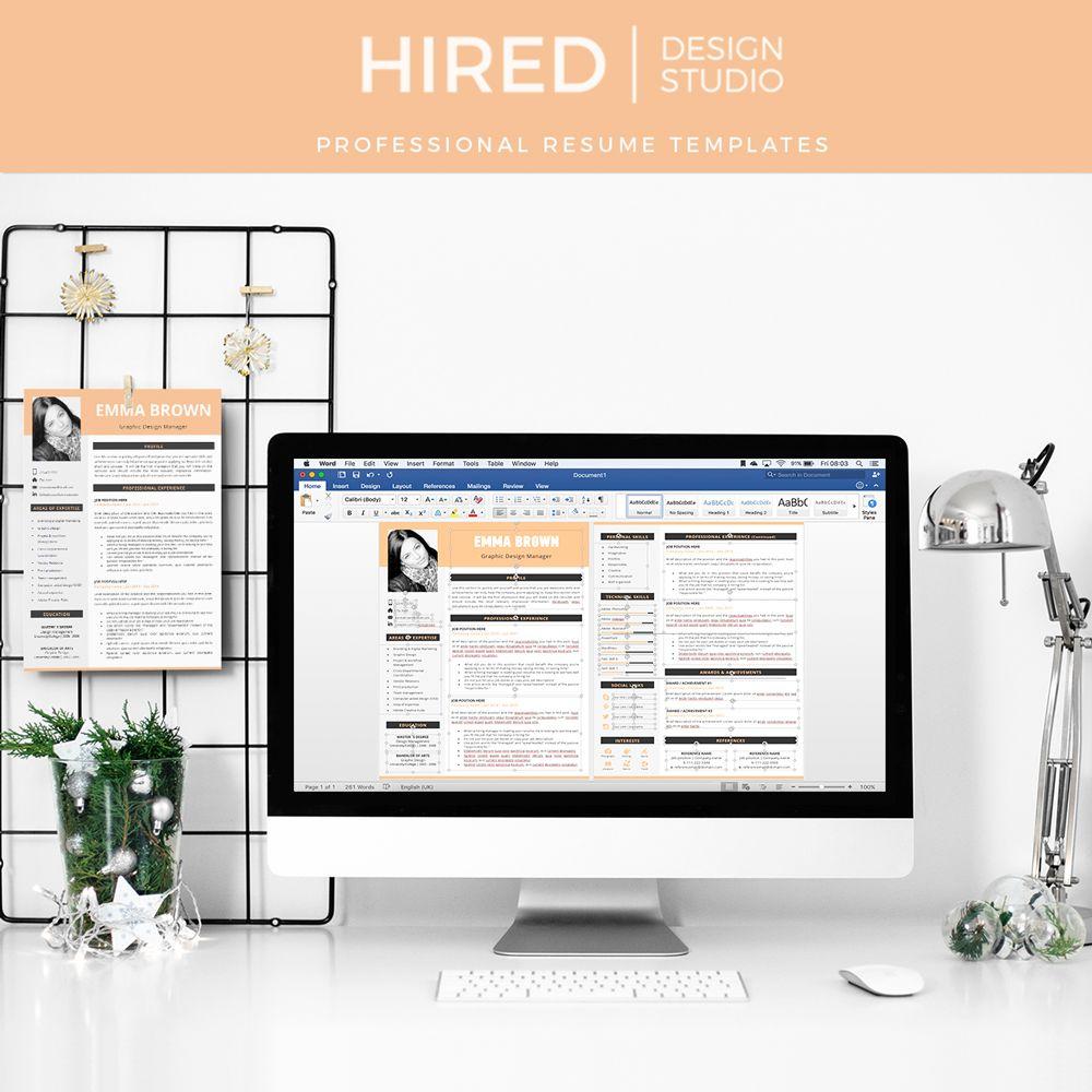 CV, resume, curriculum vitae template; Professional