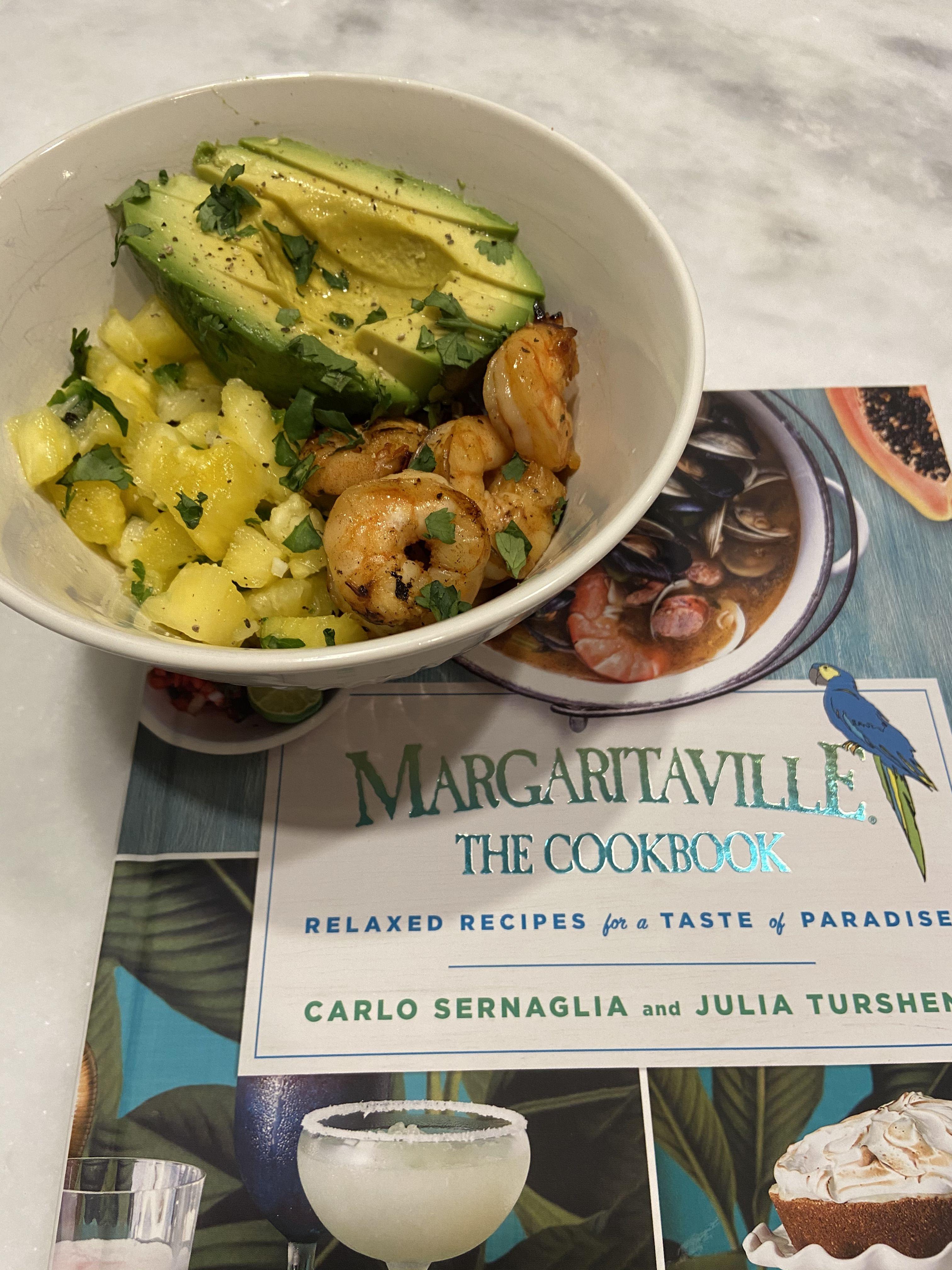 Margarita Shrimp Quinoa Bowl With Pineapple Salsa And Avocado Fruit Salsa Shrimp And Quinoa Pineapple Salsa