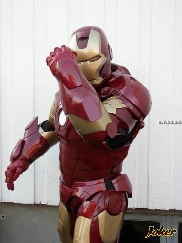 Как сделать костюм «Железного человека»? - технологические 34