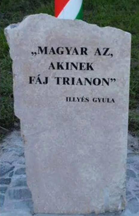 trianon versek idézetek Magyar az, akinek fáj Trianon