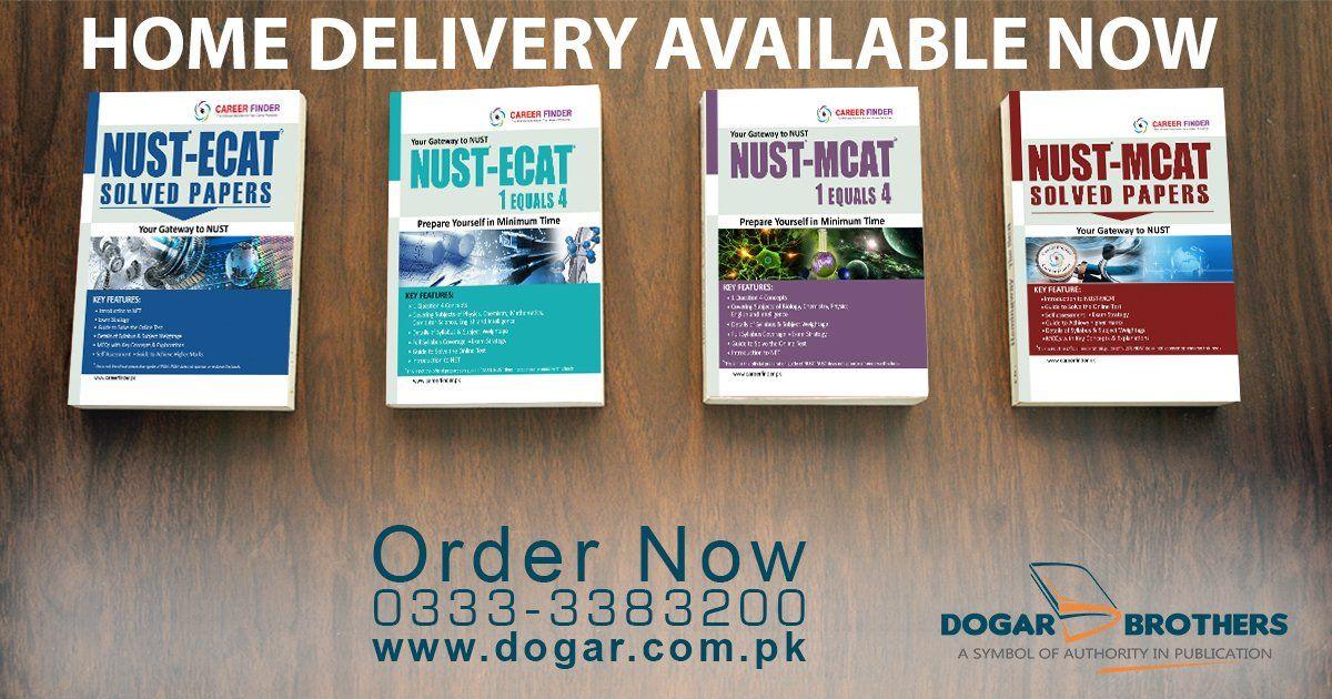 NUST MCAT , ECAT Guide and SolvedPapers. Prepare