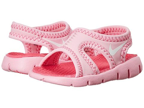 8e4c960cd25b29 Nike Kids Sunray 9 (Infant Toddler) Perfect Pink White Light Rose -  Zappos.com Free Shipping BOTH Ways