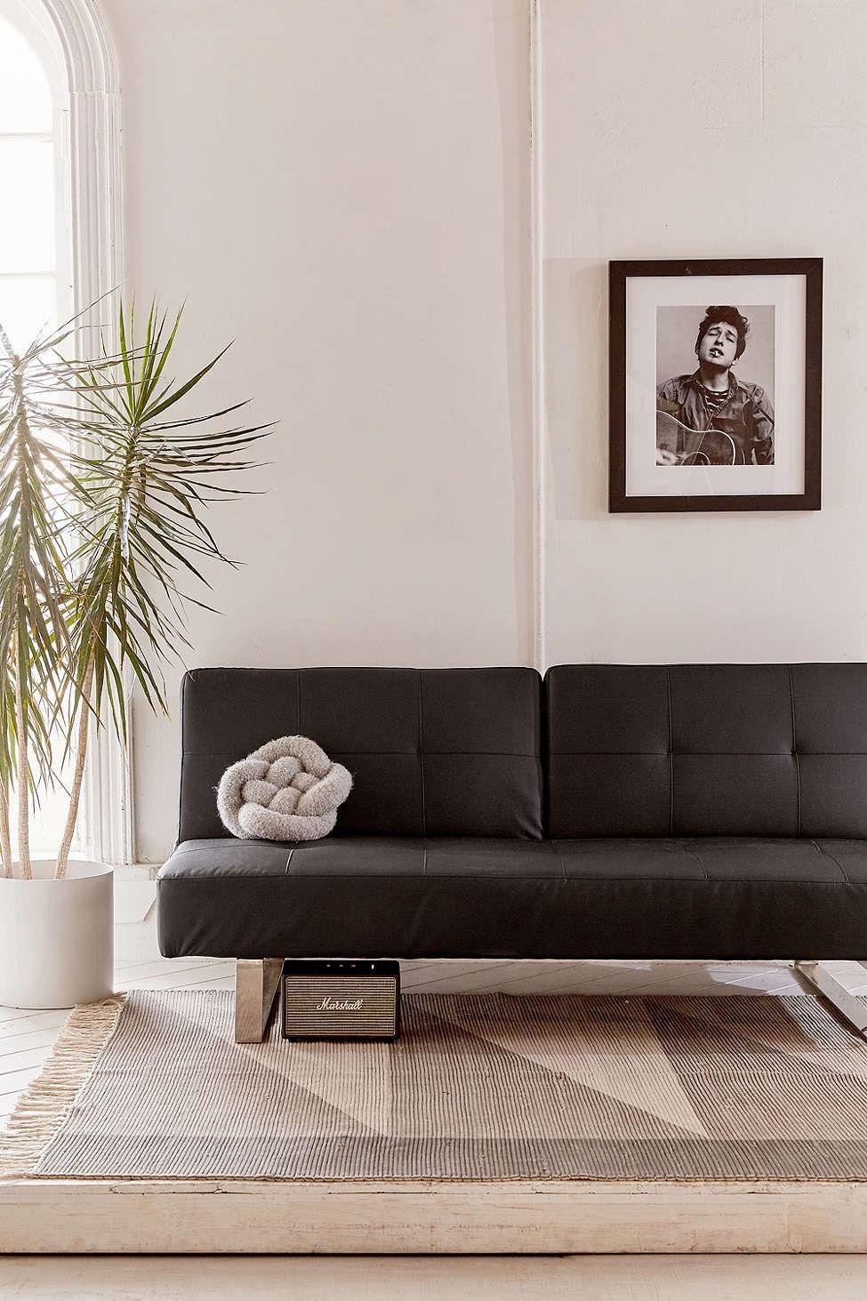 Fantastic Lucia Faux Leather Sleeper Sofa Uohome Sofa Sleeper Ncnpc Chair Design For Home Ncnpcorg