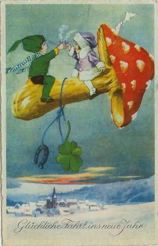 Flying on Mushrooms by eggchairsteve, via Flickr