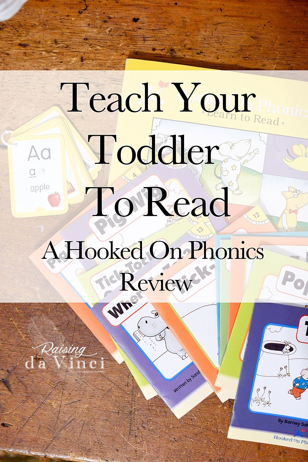 Teach Your Toddler To Read
