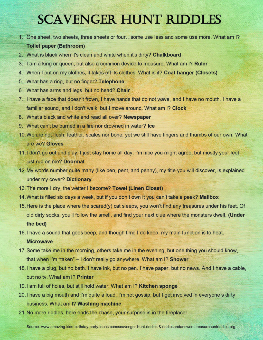 My Newfound Love Of Scavenger Hunts 10 Reasons To Try Them
