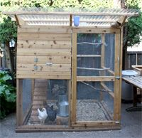 Beau Small Backyard Chicken Coop, The Garden Coop Plans