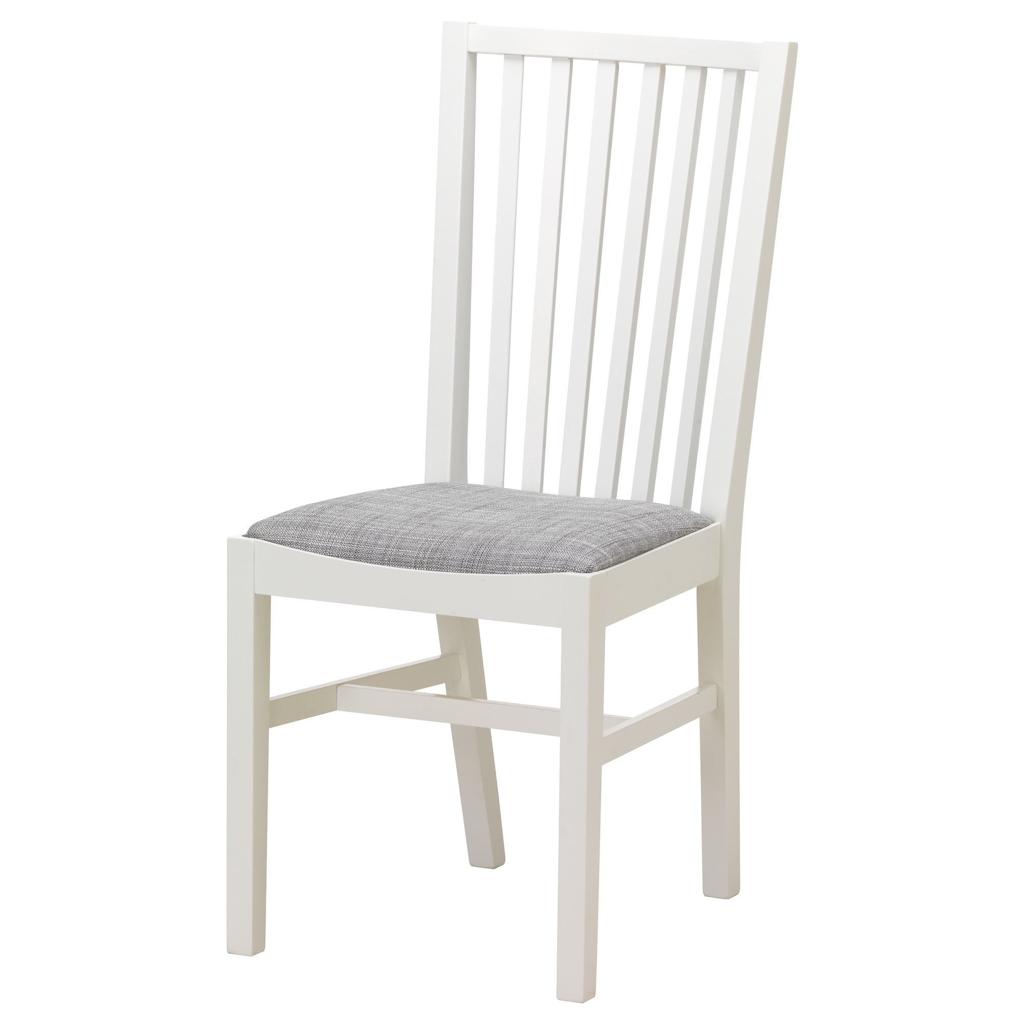 Norrnas Chair White Isunda Gray Ikea Ikea Dining Ikea