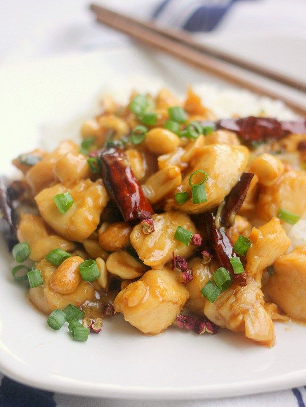 Kung Pao Chicken is a traditional sichuan dish that is very easy to make and comes together in under 30 minutes! The flavors of Kung Pao Chicken are very unique in that they call for Sichuan Peppercorns, which bring a very unusual slightly numbing sensation to the palette. But it is quite addicting!