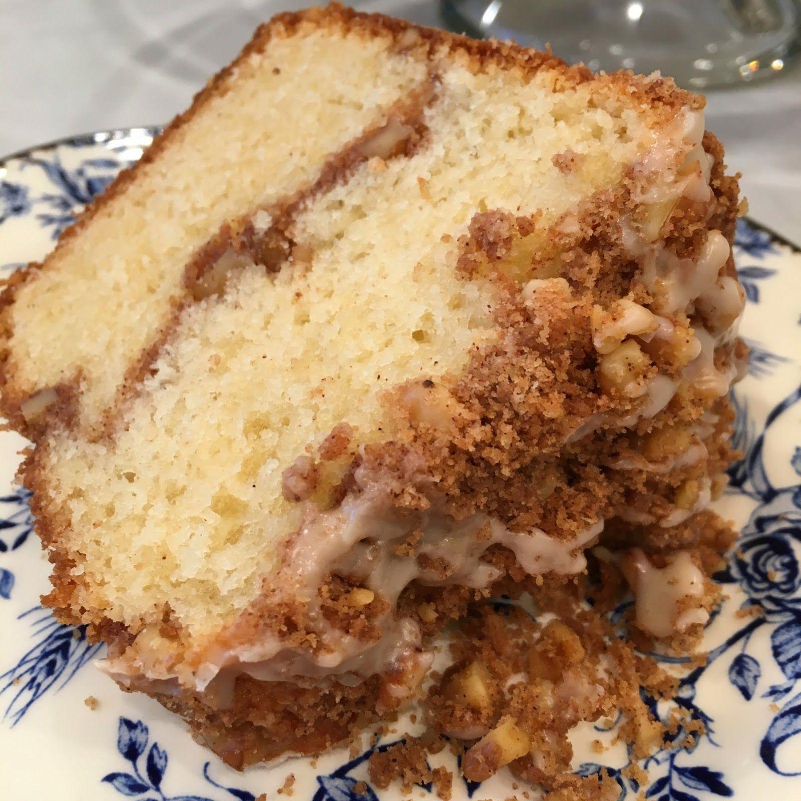 Sour Cream Coffee Cake Sour cream coffee cake, Coffee