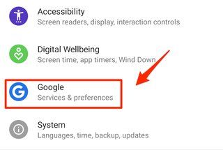 Google saves a record of your searches and other app