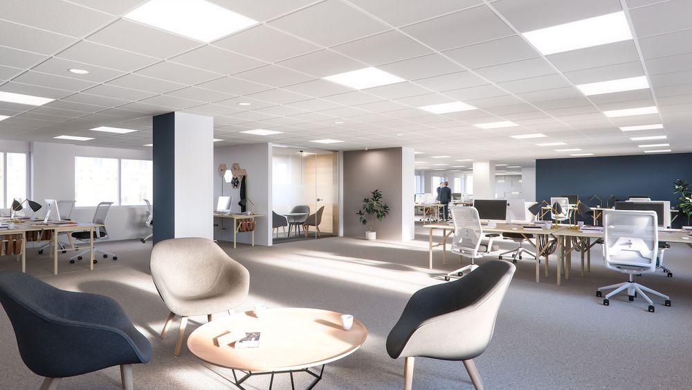 Lindstow office norway interior design scandinavian for Design stanza ufficio
