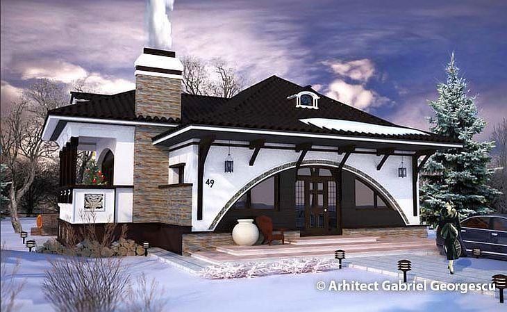 Case cu staif arhitectura cu personalitate