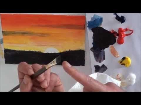 Youtube Acryl Malen Acrylbilder Selber Malen Malerei