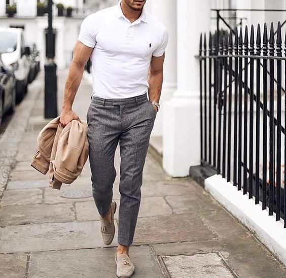 5 Business Casual Outfit Ideen für berufstätige Männer #berufstatige #business #casual #ideen #manner #outfit Herrenmode #manoutfit