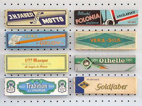 Vintage Box Pencils