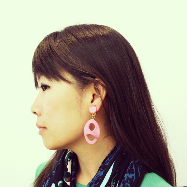 Abstract Shape of Love Clip-on - A Pair of Earrings