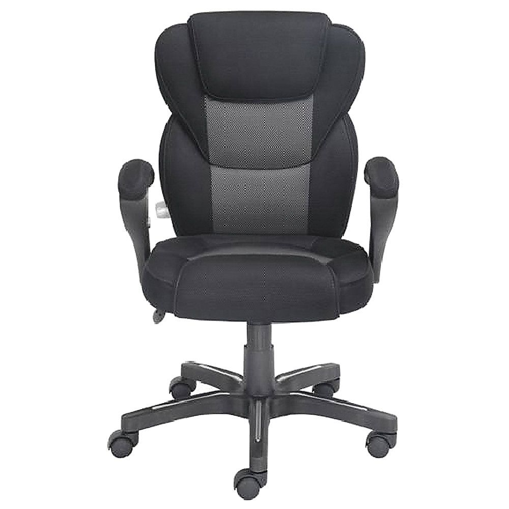 "True Innovations Sport Mesh Mid-Back Chair, 40 1/4""H X 24"