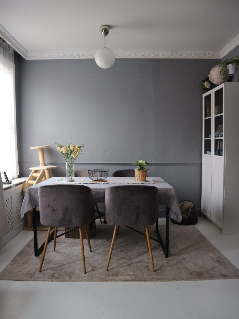 How To Paint An Old Laminate Flooring Into a Fresh