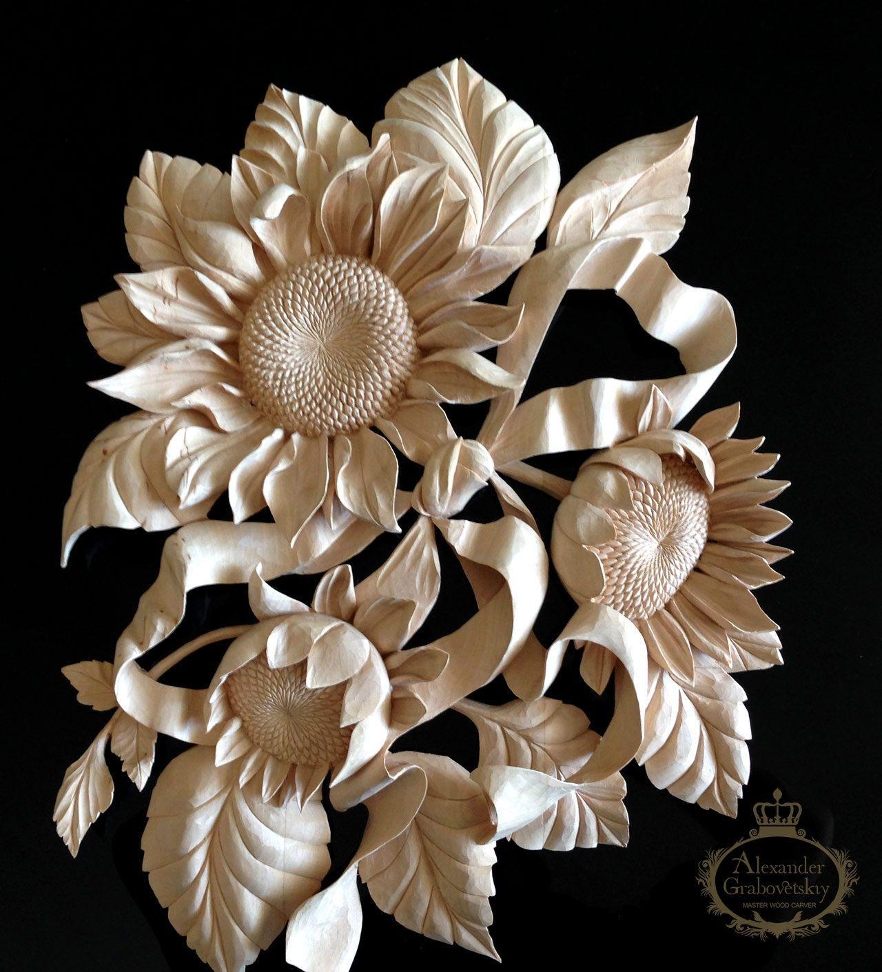 master wood carver alexander grabovetskiy woodcarving
