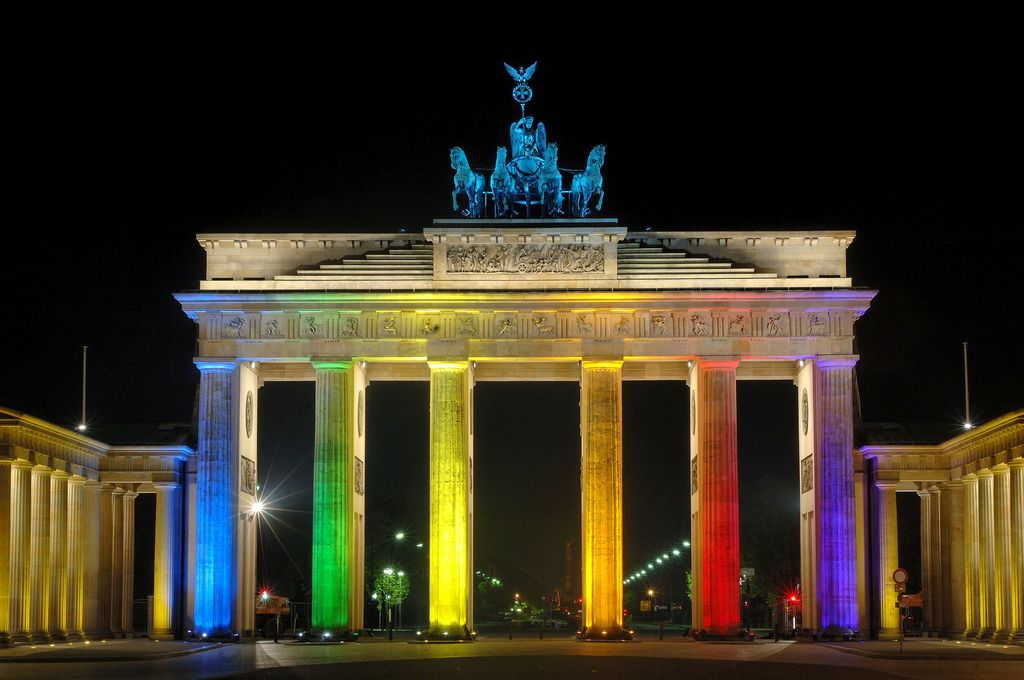 0009 Brandenburger Tor Festival Of Lights 2006 East Germany Berlin Berlin Germany