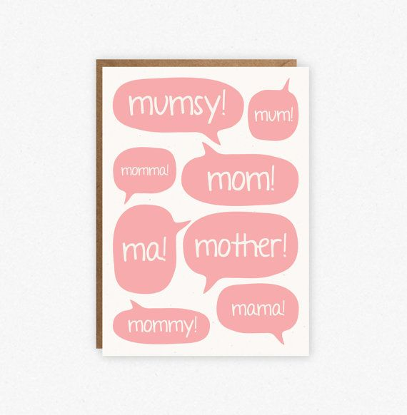 Funny Mothers Day Card Mom Birthday Card Card for Mom Mom – Mom Birthday Card Ideas