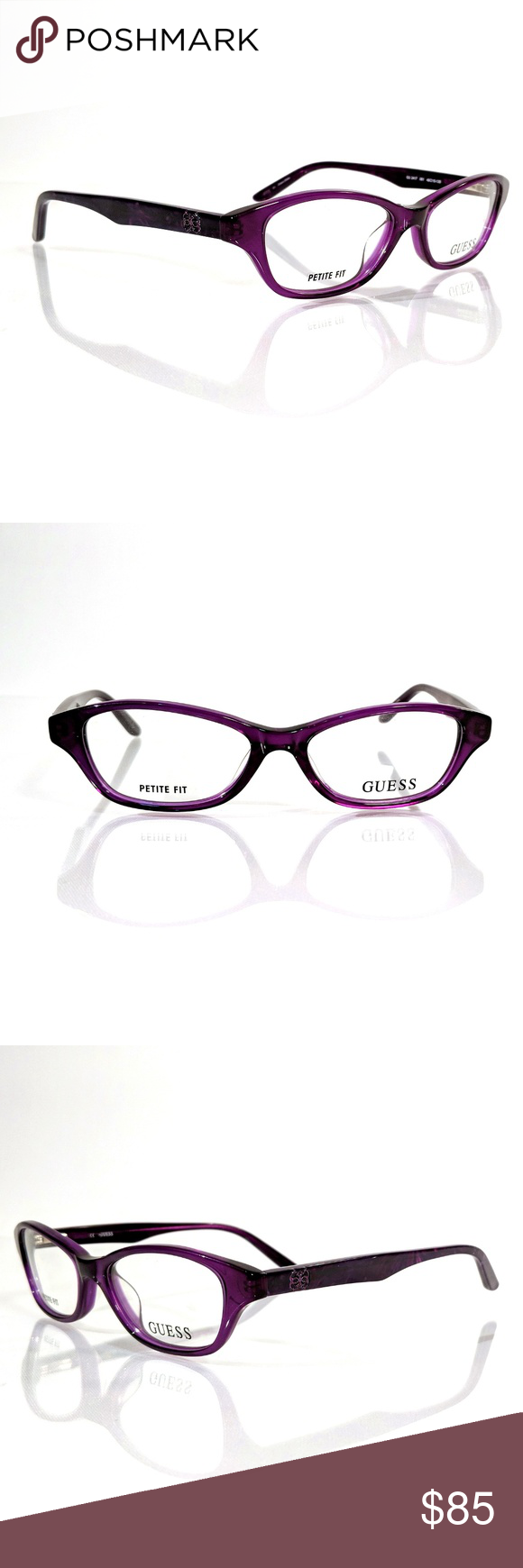e27e1f63520 GUESS Petite GU 2417 Purple Eyeglasses Frame Brand New Authentic GUESS  Petite Purple Eyeglass Frame Brand