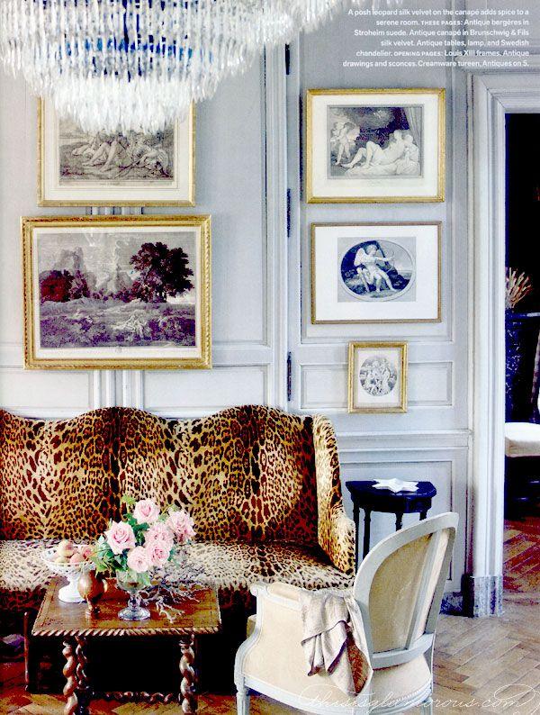 Chateau in normandy interior design by charles spada veranda via rdujour also rh pinterest
