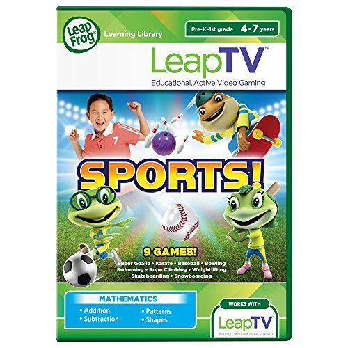 Leapfrog Leaptv Sports Educational Active Video Game To View