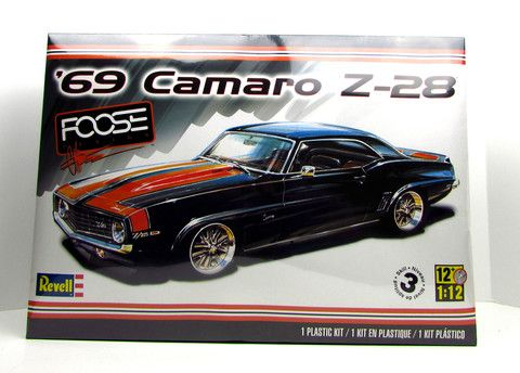 hobby kits 1 12 scale. 1969 Camaro Z-28 Foose Design Revell Large 1/12 Scale \u2013 Shore Line Hobby Kits 1 12