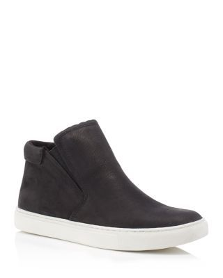 b02ae55fab KENNETH COLE Kalvin Nubuck Leather Slip On Mid Top Sneakers.  kennethcole   shoes  sneakers