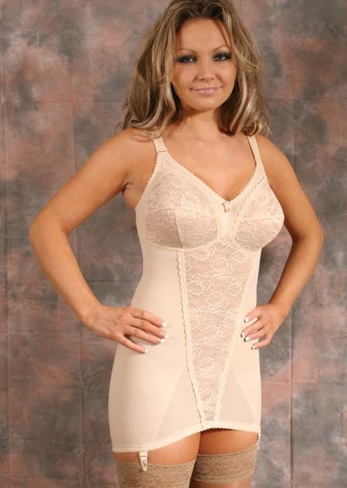 6e30a1a21cf lovelylycra  The  classic  open bottom corselette with suspenders! C mon  girls