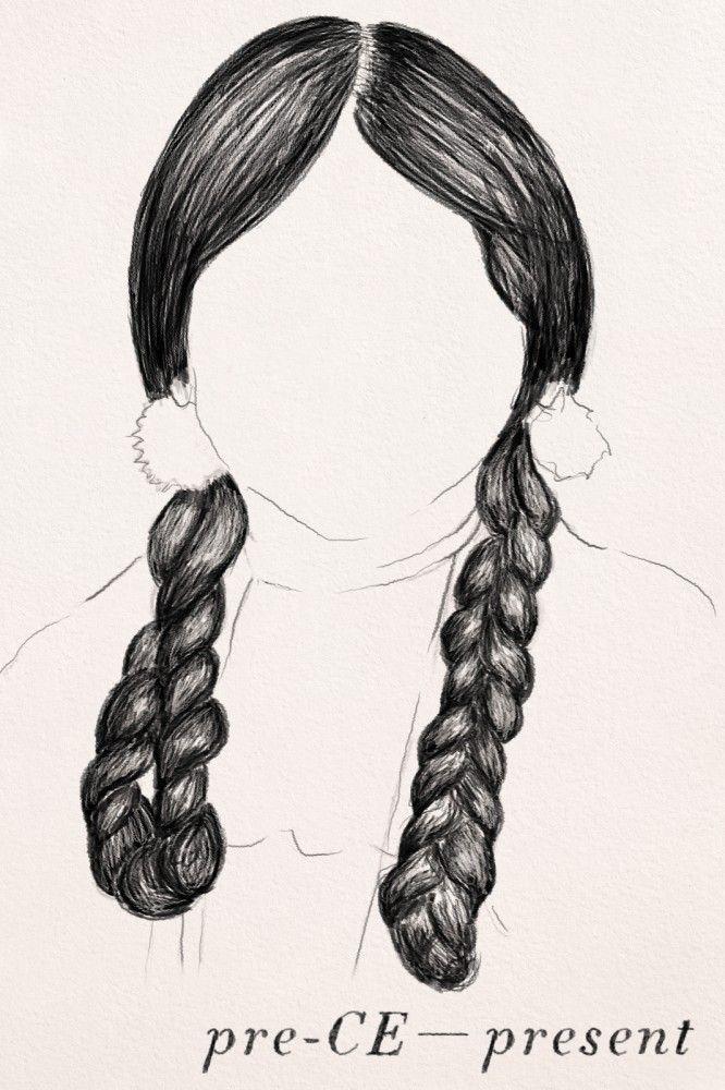 Hair Braids Beauty The History Of Hair Braiding Hair Native American Braid Pre Ce To Present Native American Braids Native American Hair Hair Styles