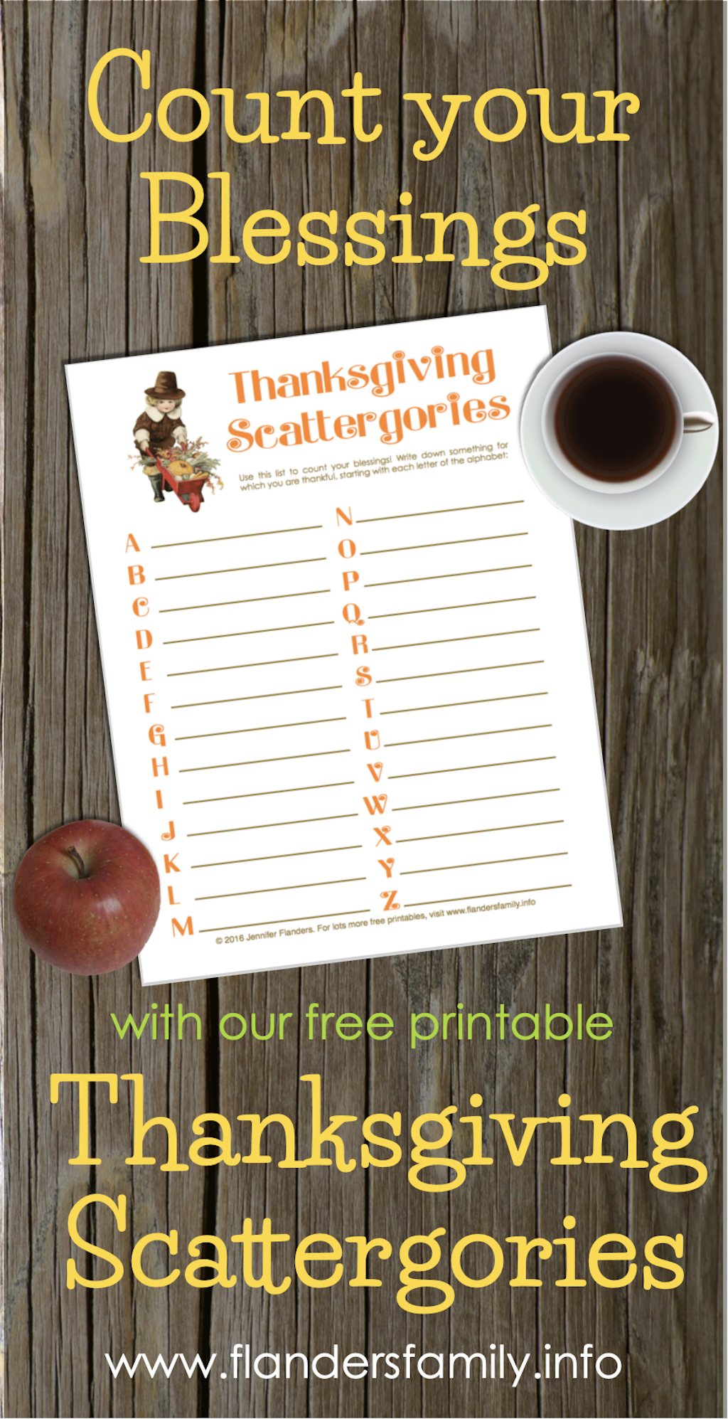 For A Fun Way To Count Your Blessings This Holiday Season