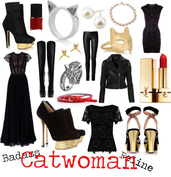 """""""Catwoman"""" by atodstyle on Polyvore"""