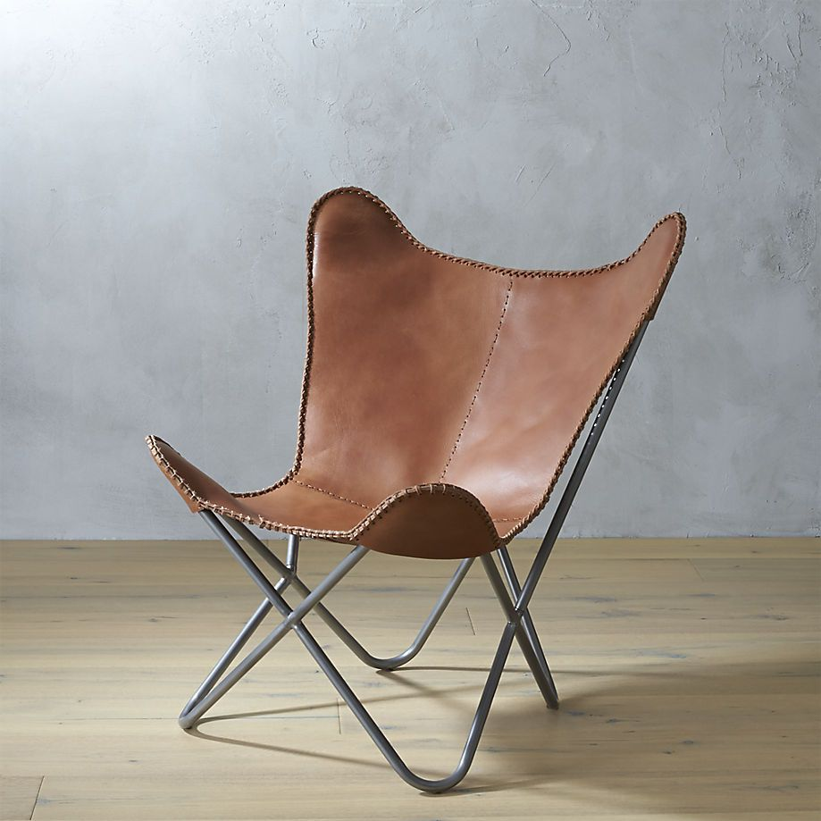 1938 Leather Erfly Chair