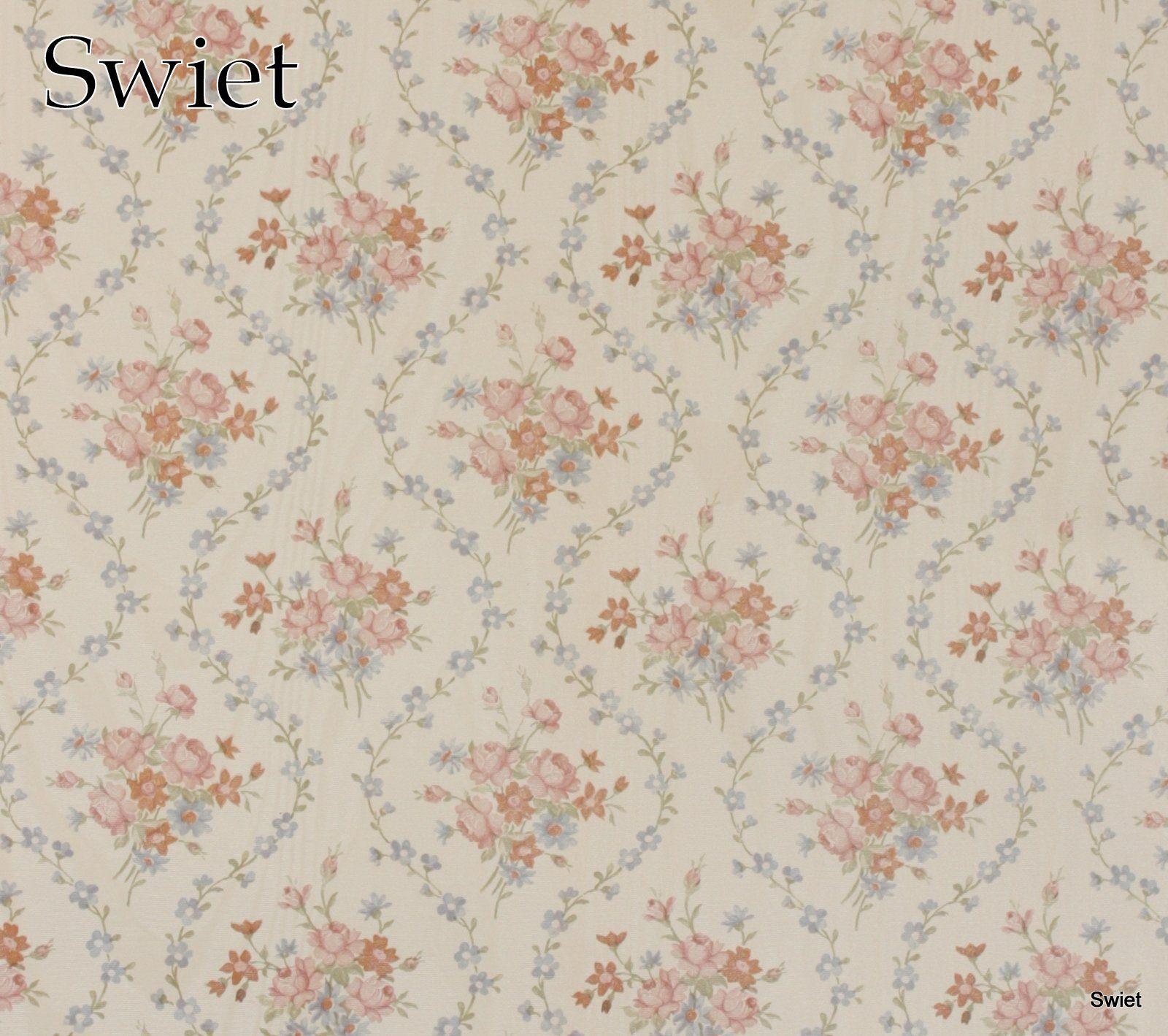 Brocante bloemetjes behang | camera