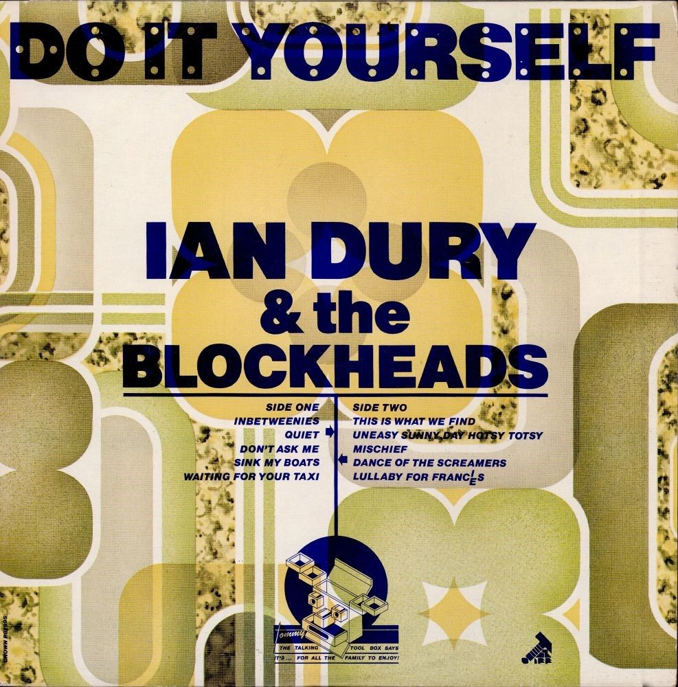 Do it yourself music albums and books barney bubbles artwork for ian dury do it yourself 1979 solutioingenieria Image collections