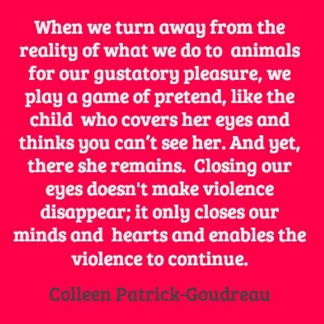 Pro vegan: Colleen Patrick-Goudreau
