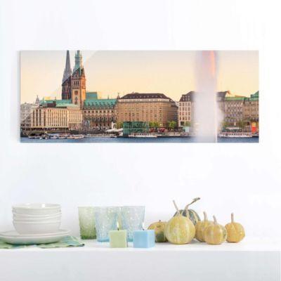 Glasbild - Hamburger Alster - Panorama Quer 50x125-40.00 Jetzt bestellen unter: https://moebel.ladendirekt.de/dekoration/bilder-und-rahmen/bilder/?uid=f8504856-790b-5ede-b3e1-c1ae98f4db8c&utm_source=pinterest&utm_medium=pin&utm_campaign=boards #heim #bilder #rahmen #dekoration