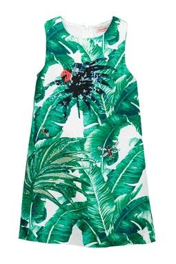 Print Dress (Toddler, Little Girls,