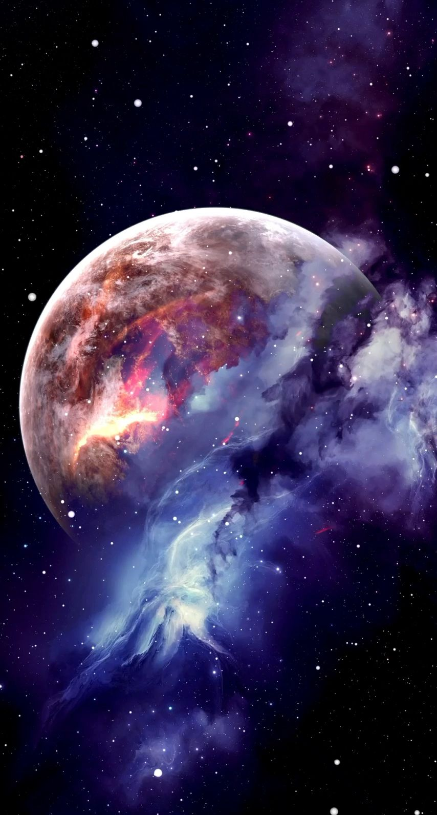 Awesome Space Wallpaper Video Wallpaper Space Space Iphone Wallpaper Planets Wallpaper