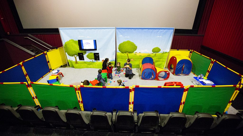 Kids Ministry In A Movie Theater Kids Church Rooms Kids Ministry Rooms Children S Ministry