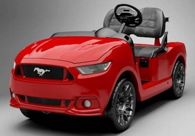 Ford Mustang Golf Cart 2015