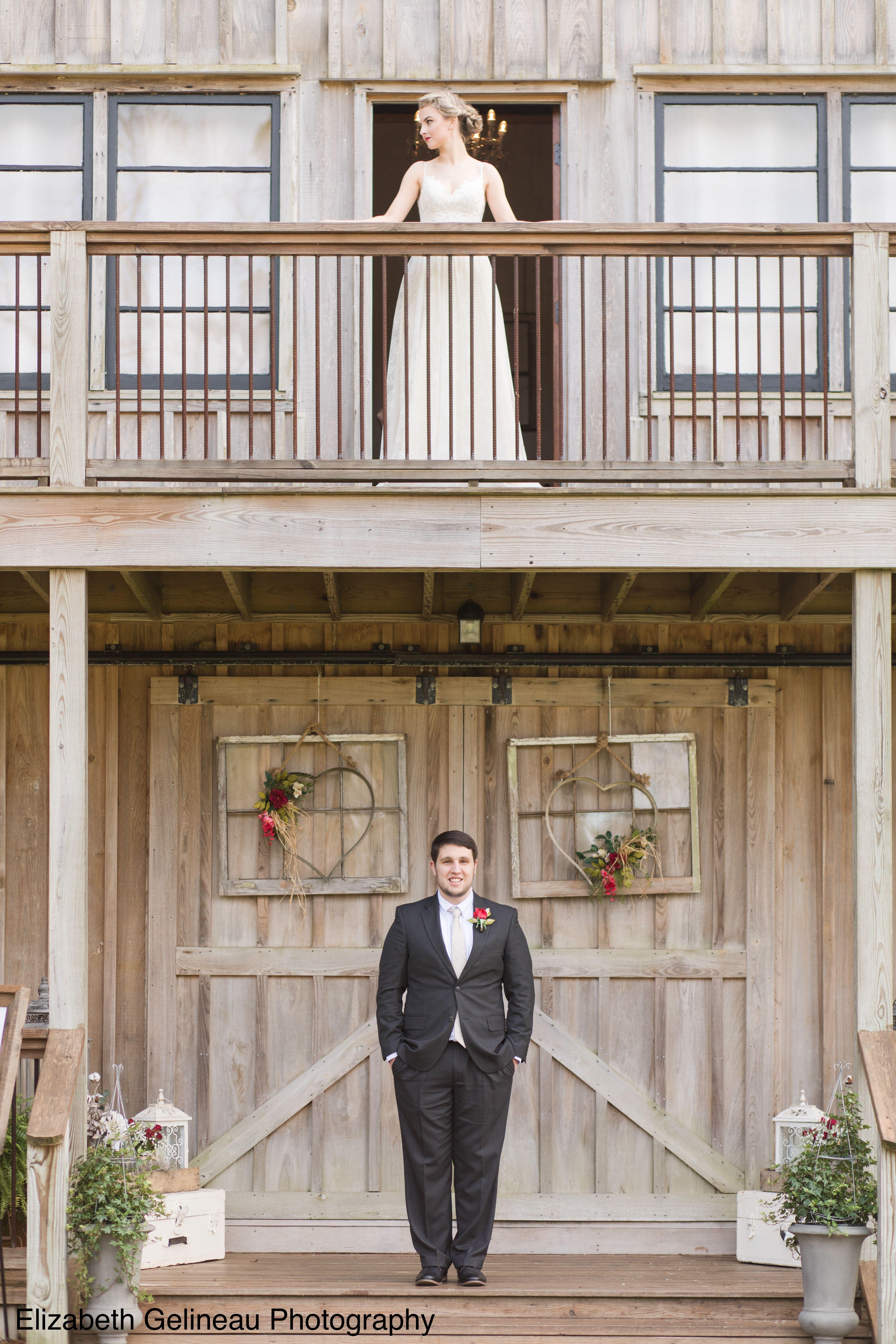 Kalioka Stables wedding venue in Mobile Al, rustic wedding ...