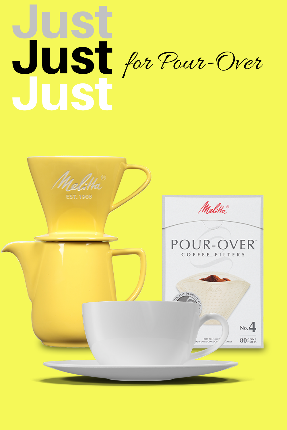 Melitta No. 4 PourOver Coffee Filters in 2020 Coffee
