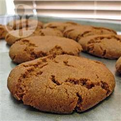 Galletas crujientes de jengibre @ allrecipes.com.mx