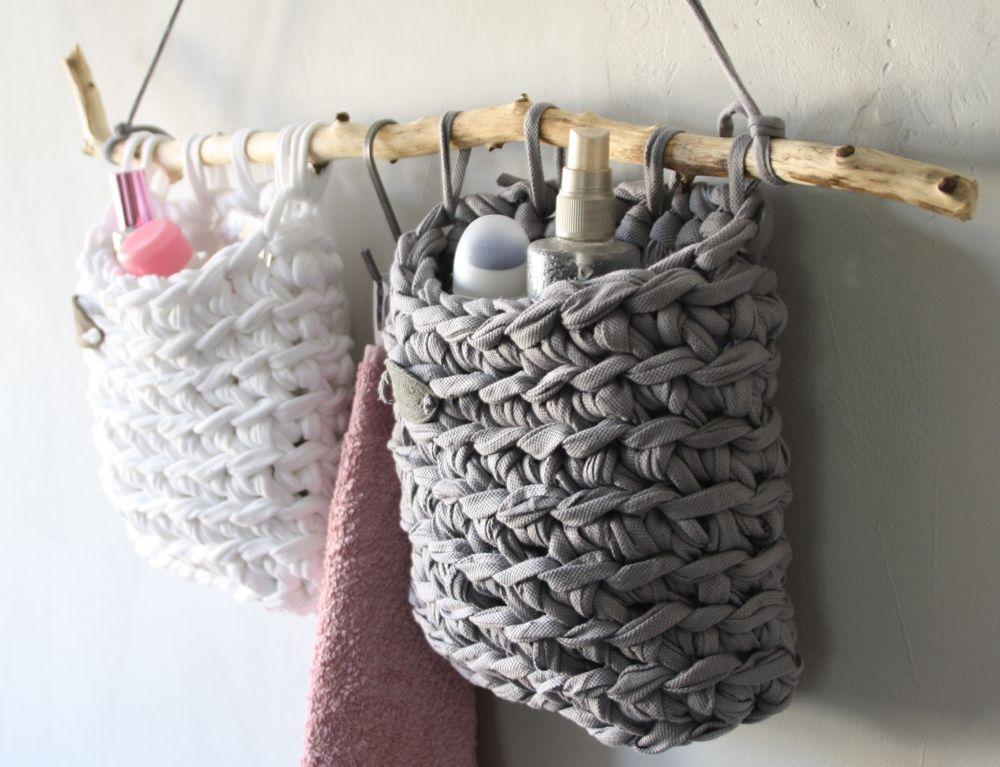 diy projekt ideen zum stricken h keln mit textilgarn. Black Bedroom Furniture Sets. Home Design Ideas